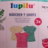 Футболка, футболки 3 шт. в комплекте, 86-92, 98-104, Германия