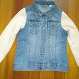 Джинсова курточка 122-128 Pepperts