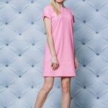 Платье летнее короткое персик