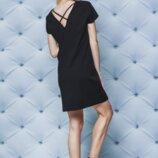 Платье летнее короткое черное