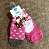 Классные носочки от M&Co с Минни из Англии 19-21 размер