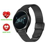 Умные часы Smart Watch Makibes M7 черный С датчиком давления и сердечного пульса