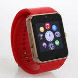 Часы Smart Watch Phone GT08 Бронза-Золото под Сим карту спиннер в подарок Супер цена