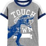 Новые футболки на мальчиков Carter s и Osh Kosh 2Т, 3Т, 4Т, 5Т, 6, 7, 8, 10/12 из Сша