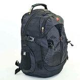Рюкзак городской рюкзак офисный Victor 7225 49x33x19см, черный
