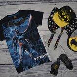 11 лет 146 см Фирменная крутая футболка стильному мальчику Бэтмен Batman бетмен Next некст