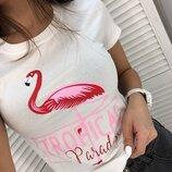 Стильная футболка три расцветки