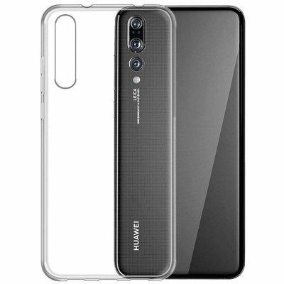 Чехол для Huawei P20 Pro прозрачный Силиконовый