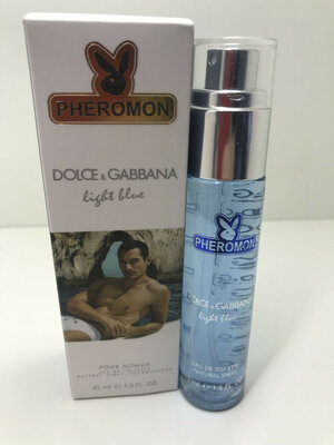 Dolce & gabbana light blue poure homme pheromon 45 мл