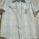 Летняя рубашка,тениска crosshatch