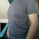 Мужская футболка однотонная