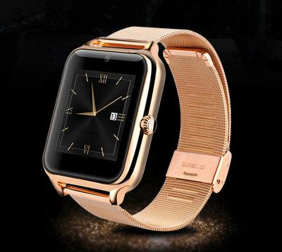 Часы Smart Watch Phone Z60 золото на Сим карту Камера Новинка