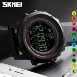 Спортивные умные часы Skmei Smart 1321 красные водостойкость 50 м