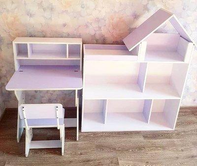 Мебель в детскую. Парта. Стол и стул. Набор мебели. Парта растишка.