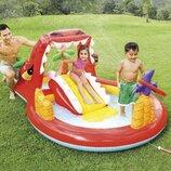 Детский надувной центр Счастливый динозавр Intex 57160