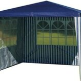 Павильйон садовый шатер с двумя стенками 3 х 3 м