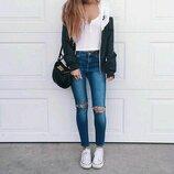 Модные джинсы высокая посадка Хс-С 34 Morgan