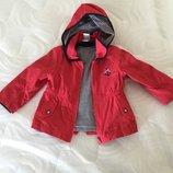 Детская курточка/ветровочка 3 в1 baby club р.80