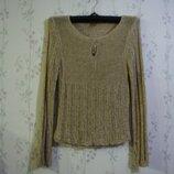 Кофта р.40-46 свитер дешево женская беж