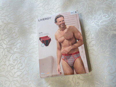 Трусы мужские Livergy из Германии, набор трусов, слипы, плавки, хлопок