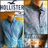 Рубашка от американского бренда одежды Hollister, оригинал, р.M, пр-во Индия