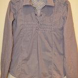 Красивая рубашка в мелкую полосочку от only, 36 размер