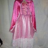 карнавальное платье на 5-6 лет и плащ