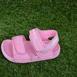 Детские пляжные босоножки сандалии пена розовые р24-29