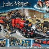 Конструктор Lele 39146 Аналог Lego Harry Potter 75955 Хогвартс-Экспресс 836 деталей