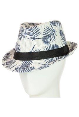 Соломенная шляпа челентанка унисекс 56-58 разные цвета