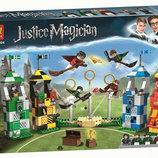 Конструктор Bela 11004 Матч по квиддичу аналог Lego Harry Potter 75956 , 536 дет