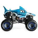 Hot Wheels Monster Jam Внедорожник джип акула 1 24 Scale megalodon Trucks Vehicle