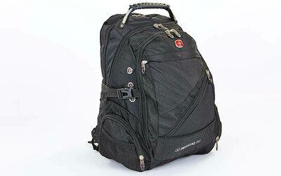 Рюкзак городской рюкзак офисный Victor 1529 47x32x24см, черный