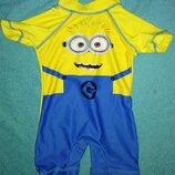 Next Миньон детский гидрокостюм солнцезащитный костюм купальный бассейн плаванье