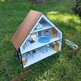Кукольный домик. Боварский домик. Домик для лол.