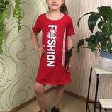 Туника спортивное платье на девочку летняя туника для девочки