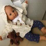 Набор комплект одежды для куклы пупса Анабель, Шу-Шу, беби борна 46-50 см