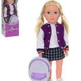 Кукла M 3925 Софи. Лялька для дівчинки. Кукла для дівчинки. Інтерактивна лялька. Интерактивная кукла