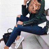 Мега модные джинсы с высокой посадкой М 10