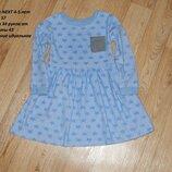 клевое платье 4-5 лет