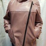 Курточка натуральная кожа косуха Турция все размеры