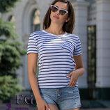Женская футболка с карманом Believe 42-44 46-48 50-52