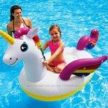 Надувной плот для плавания Intex «Единорог»