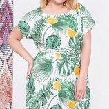 Воздушное платье, большого размера