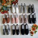 Новинка 2019 Хит Супер крутые натуральные кожаные женские слипоны мокасины 35,36,37,38,39,40,41
