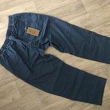 Отличные новые летние штаны из тонкой джинсовой ткани, большой размер и рост