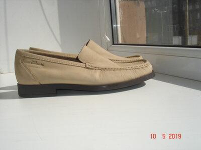 Туфли мокасины Clarks 43 28 см