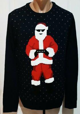 Новогодний свитер с сантой