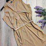 Лёгкое летние платье рубашка ginatricot размер S. Сток.