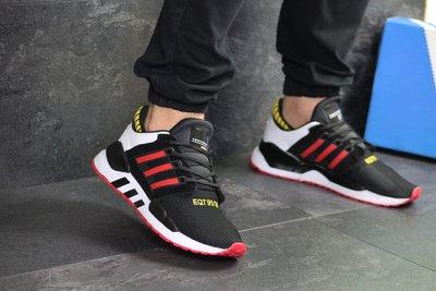 Кроссовки мужские Adidas Equipment 91/18 black/red